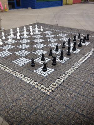 Chess (PRNewsFoto/Green Way Pavements)