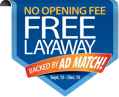 Walmart Ditches Layaway Fees, Saves Customers Cash.  (PRNewsFoto/Walmart)