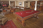 Brunswick Billiards' Newbury Collection Features Old-World Craftsmanship and Game Room Entertainment