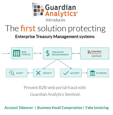 Guardian Analytics introduces the first solution to protect enterprise treasury management systems from fraud.