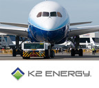 Nevada Based K2 Energy Solutions believes Lithium Iron Phosphate Technology may be Solution to Aerospace Battery Problem.  (PRNewsFoto/K2 ENERGY)
