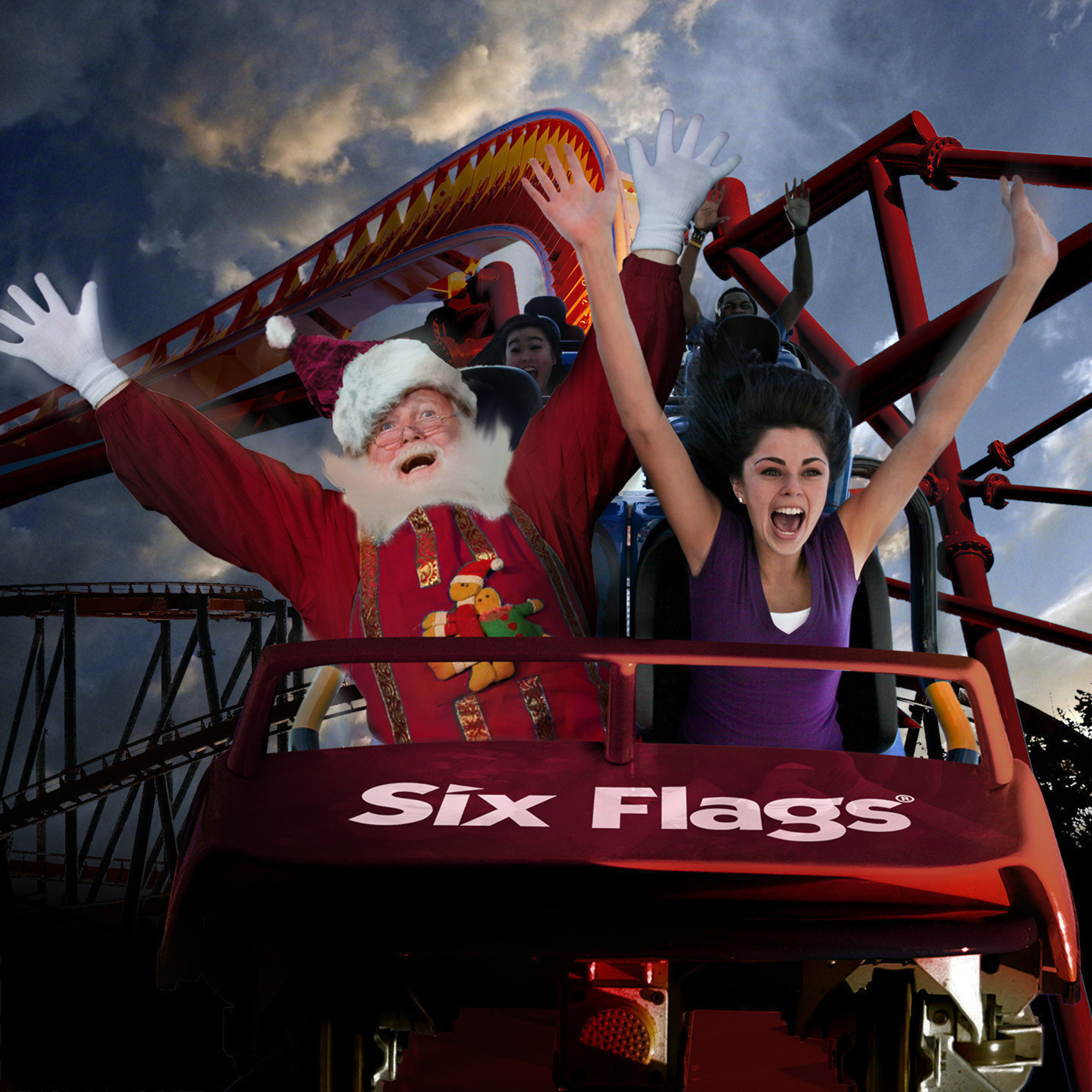 Six Flags Great Adventure will debut Holiday in the Park this winter, featuring millions of glittering lights, dazzling holiday entertainment, delicious seasonal treats, Santa's village, animals and many popular rides. The special seasonal event will run weekends and select days from November 21 through January 3, 2016.