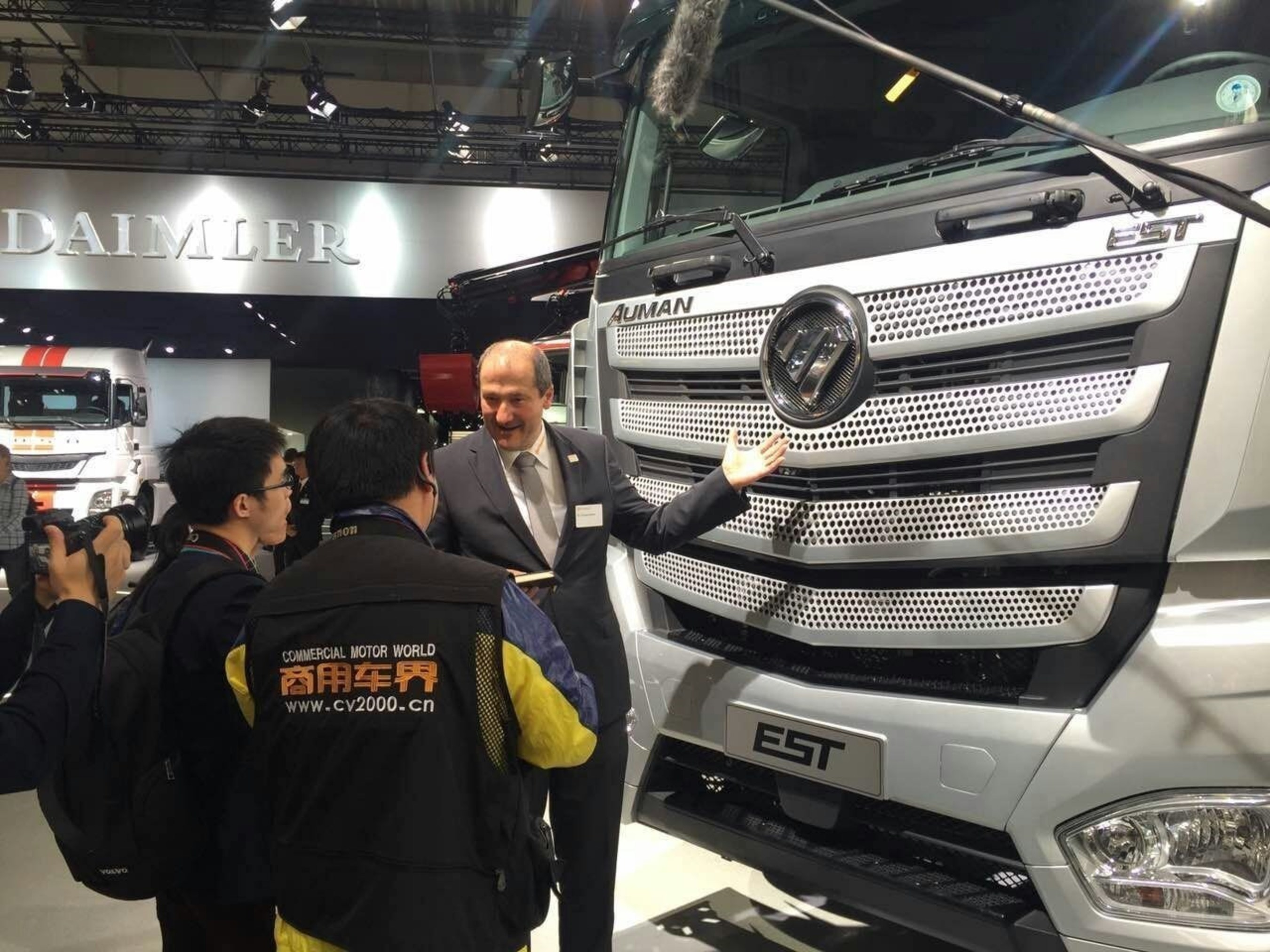 Continental AG Commercial Vehicle Electronics Global Product Director Thomas Olbrich Accepting an Interview