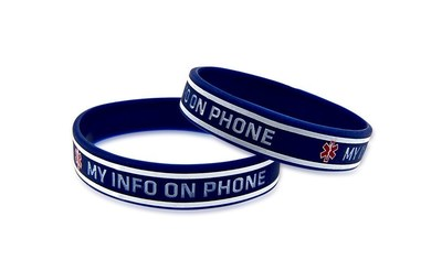 MEDICAL ID COMPANY MAKES FIRST BRACELET DIRECTING EMT'S TO iPHONE HEALTH APP