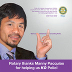 Manny Pacquiao Works To Knock Out Polio Once and for All