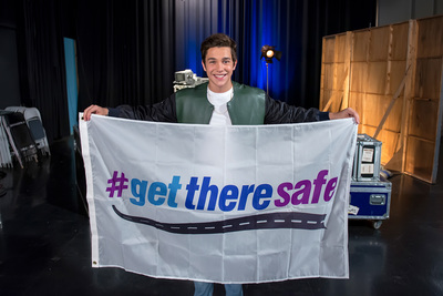 The Allstate Foundation's #GetThereSafe program encourages smart teen driving. (PRNewsFoto/The Allstate Foundation)