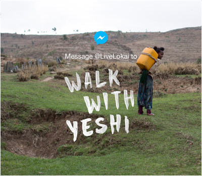 Lokai Innovates With Facebook Messenger And Invites The World To Walk Together For charity: water