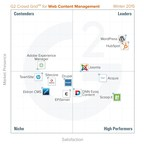 G2 Crowd publishes Winter 2015 rankings of the best web content management platforms