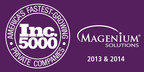 Magenium Solutions Named to Inc. 5000 List for Second Year in a Row (PRNewsFoto/Magenium Solutions)
