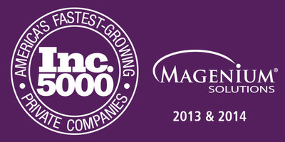 Magenium Solutions Named to Inc. 5000 List for Second Year in a Row