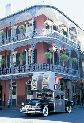 The Zippo Car in New Orleans, Louisiana