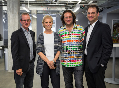 Photo Credit: Kimberly Wolff PhotographyPictured from left to right: Greg Greenwood, Executive Director, Blackstone Entrepreneurs Network; Amy Stursberg, Executive Director, Blackstone Charitable Foundation; Brad Feld, Managing Director, Foundry Group; Phil Weiser, Executive Director, Silicon Flatirons Center for Law, Technology, and Entrepreneurship