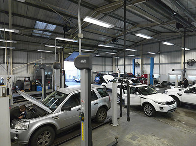 The 73-property Pendragon portfolio acquired by W. P. Carey Inc. includes vehicle showrooms and onsite auto body shops throughout the UK. (PRNewsFoto/W. P. Carey Inc.)