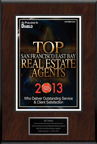 "AJ Cohen Selected For ""Top San Francisco East Bay Real Estate Agents."" (PRNewsFoto/American Registry)"