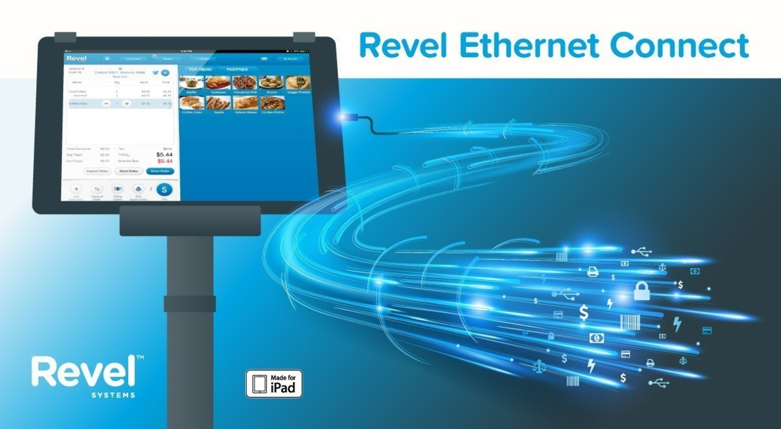 Revel Systems Adds a Secure, Cabled Solution to Its iPad POS System
