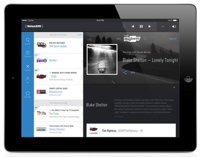 SiriusXM: Listen Your Way Live, On Demand, or Personalized