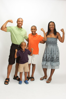 The Beckford Formula for Weight Loss Introduces New App, New Website and Upcoming Book. After committing to The Beckford Formula, the Beckford family lost over 100 pounds.  (PRNewsFoto/The Beckford Formula Enterprises, LLC)