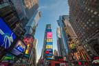 Kavalan Whiskies at Times Square