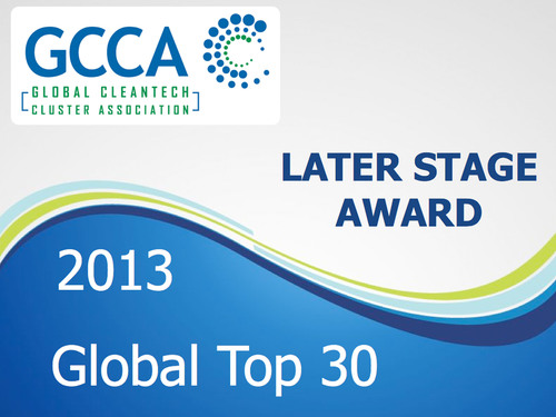 The 2013 Global Top 30 are some of the world's most sought after equity investable cleantech companies ...