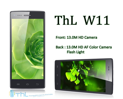 Monkey King ThL W11: the World's First Smartphone with 13MP Front Camera.  (PRNewsFoto/Technology, Happy, Life)