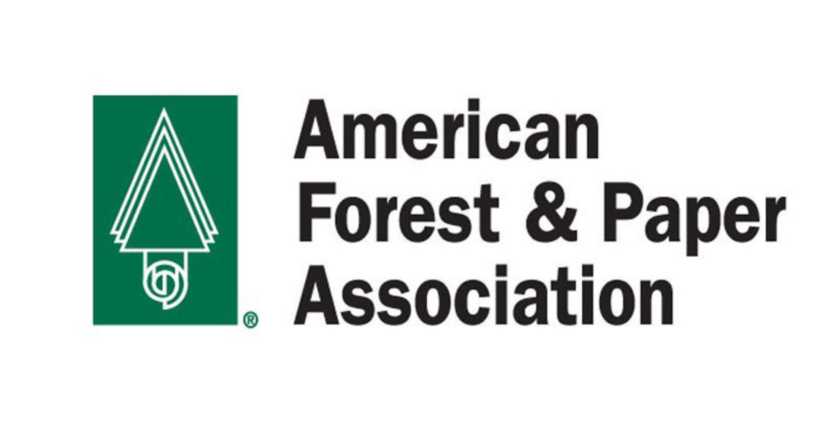 American Forest & Paper Association Logo. (PRNewsFoto/American Forest & Paper Association)