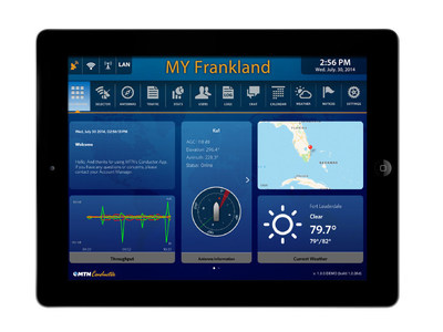 The MTN Conductor mobile app provides a single interface into the MTN Maestro end-to-end solution to manage every network, every provider and every user on each yacht for the best possible communications experience at sea or no matter where you drop anchor.