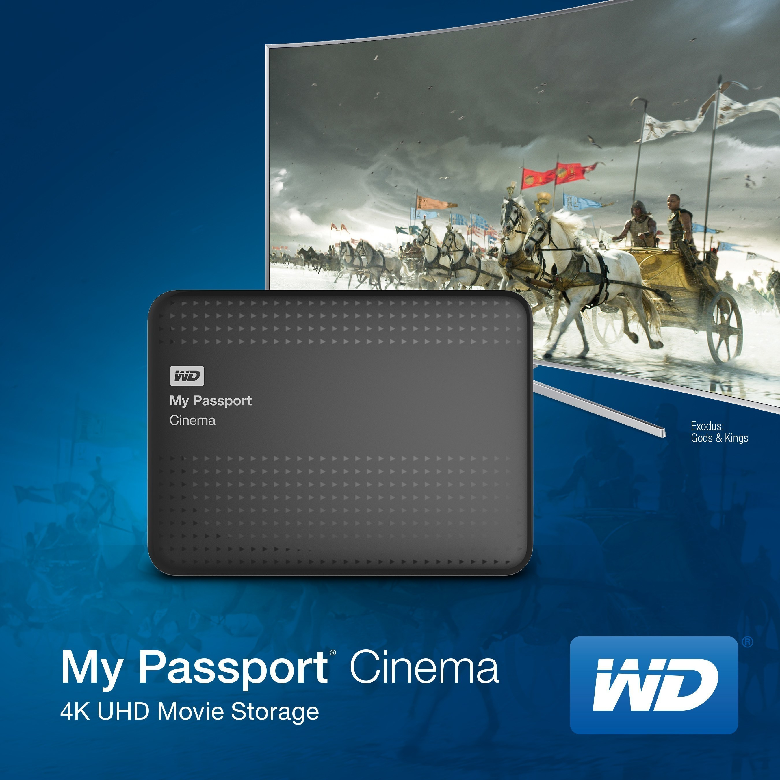 WD Delivers Ultra HD Movie Content For New Generation Of Samsung TVs