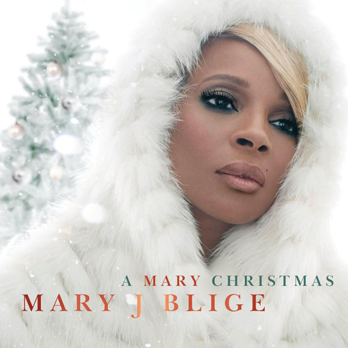 Mary J. Blige Is Set To Release Her First Christmas Album.  (PRNewsFoto/Interscope Records)