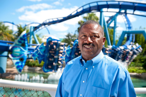 New President of SeaWorld Parks & Entertainment's Orlando Attractions