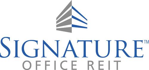 Signature Office REIT, Inc. logo. (PRNewsFoto/Signature Office REIT, Inc.) (PRNewsFoto/SIGNATURE OFFICE REIT, ...