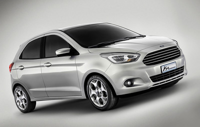 Ford Unveils All-New Global Small Car Concept in Brazil.  (PRNewsFoto/Ford Motor Company)
