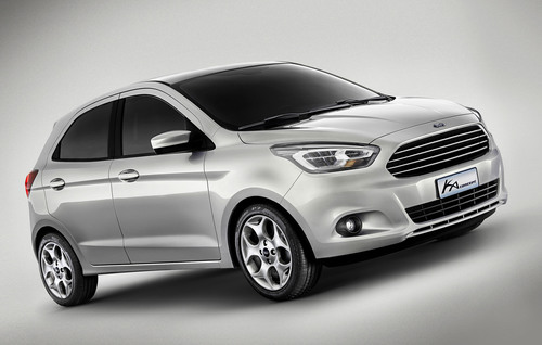 Ford Unveils All-New Global Small Car Concept in Brazil