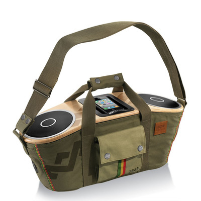Honoring the Legacy of Bob Marley, MARLEY Bag of Rhythm Brings Music on the Go.  (PRNewsFoto/House of Marley)