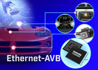 The new Toshiba TC9560XBG is an automotive-grade Ethernet bridge solution for in-vehicle infotainment and other automotive applications.
