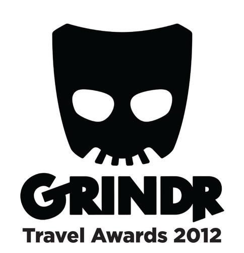 Grindr Travel Awards 2012 Logo.  (PRNewsFoto/Grindr)