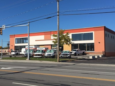 U-Haul Company's acquisition and adaptive reuse of an abandoned flooring store has residents of Irondequoit, located just north of Rochester, excited for the reduction in blight and the additional moving and storage options available in their community.
