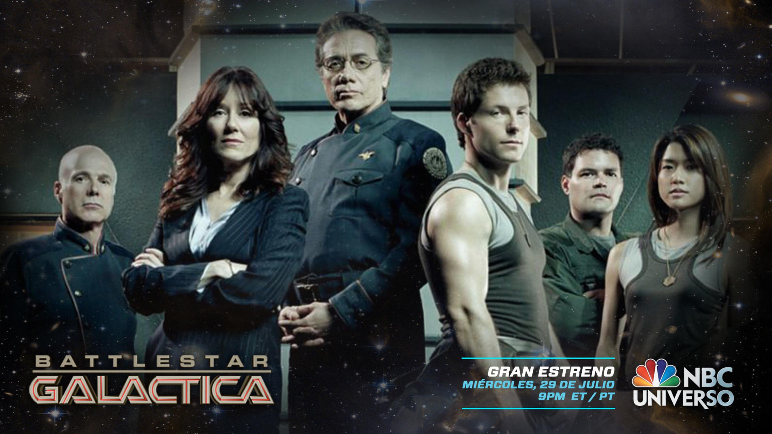 Battlestar Galactica on NBC UNIVERSO
