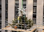 Swarovski Celebrates Raising Of Illustrious Star To The Top Of The World Famous Rockefeller Center® Christmas Tree