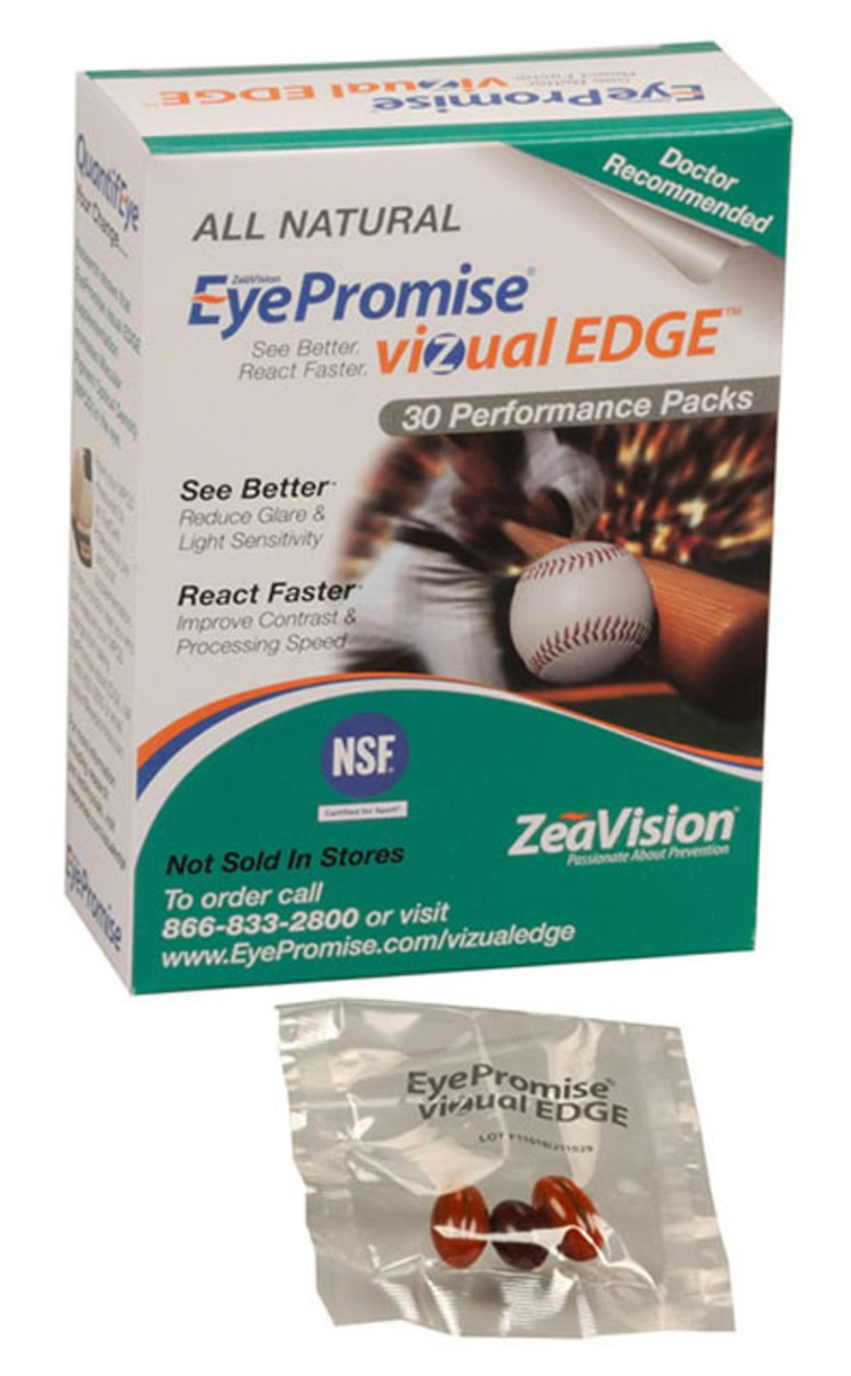 EyePromise vizual EDGE from ZeaVision.  (PRNewsFoto/ZeaVision)