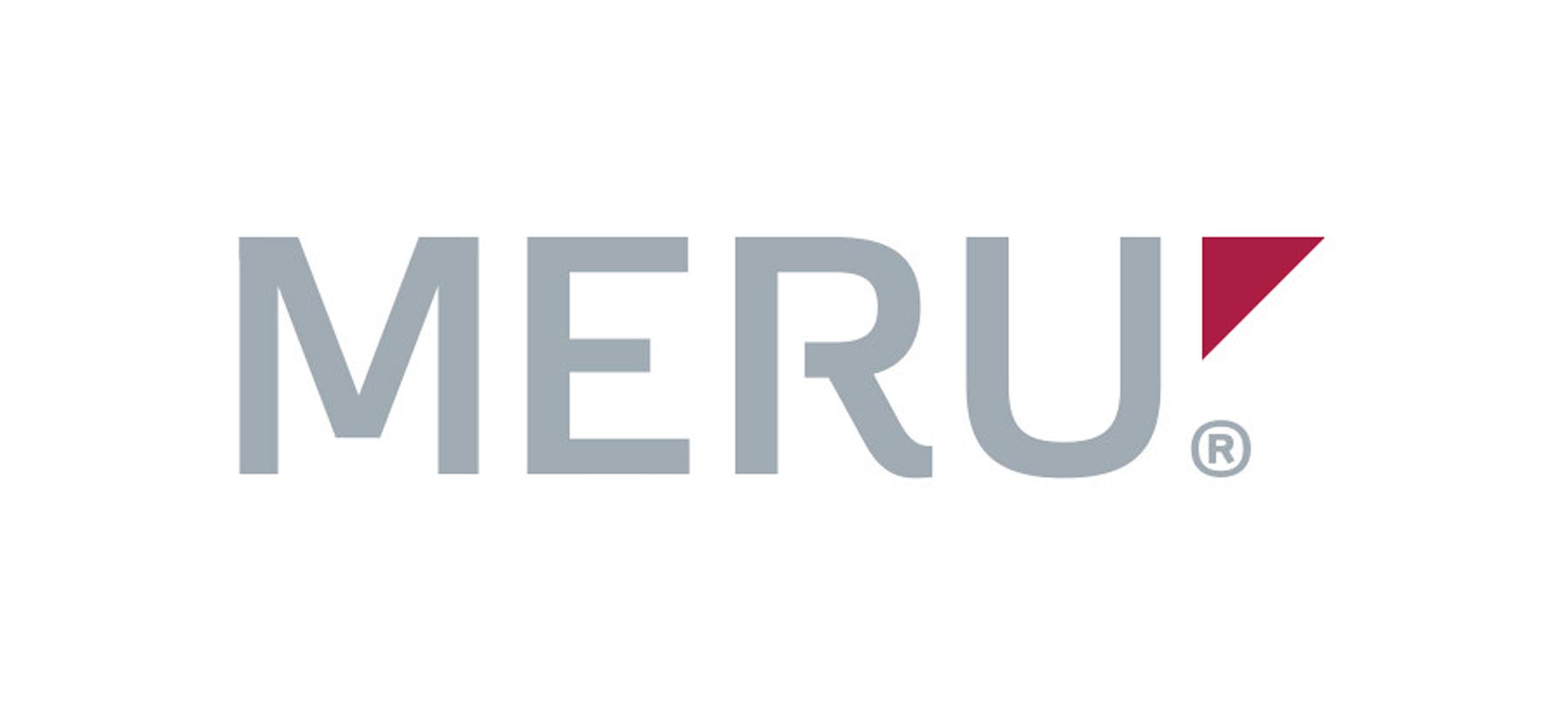 Meru Networks logo.