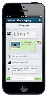 Keek Menambah Penghantaran Pesanan Video Peribadi Kepada Platform Video Sosialnya