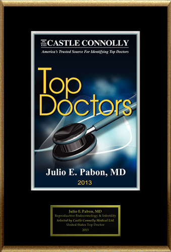 Dr. Julio E. Pabon is recognized among Castle Connolly's Top Doctors(R) for Sarasota, FL region in 2013.  ...