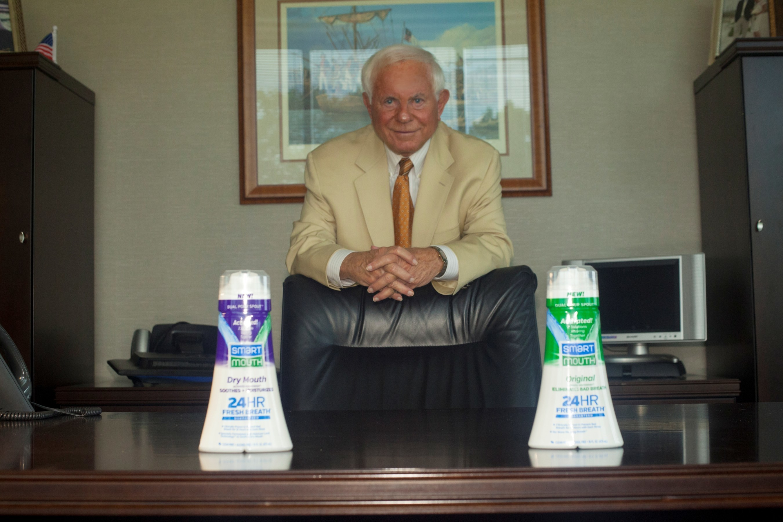 """Ray Barrett, chairman of the board of Triumph Pharmaceuticals and its premier brand SmartMouth Oral Rinse, is known as the """"entrepreneur's entrepreneur"""" and has a successful track record in the medical and consumer products markets."""