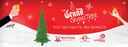 GRAND MARNIER(R)'S GIFT FOR THE HOLIDAYS: GRAND GIVING TREE UNVEILED FOR 2012. Grand Marnier(R), the iconic  ...