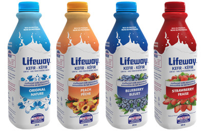 New Lifeway Kefir now available in Canada (PRNewsFoto/Lifeway Foods, Inc.)