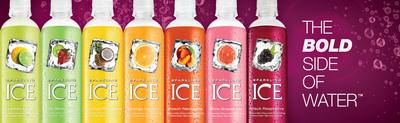 TalkingRain(R) Boldly Invests in Premiere National Advertising Campaign for Sparkling ICE(R) Beverages.  (PRNewsFoto/TalkingRain)