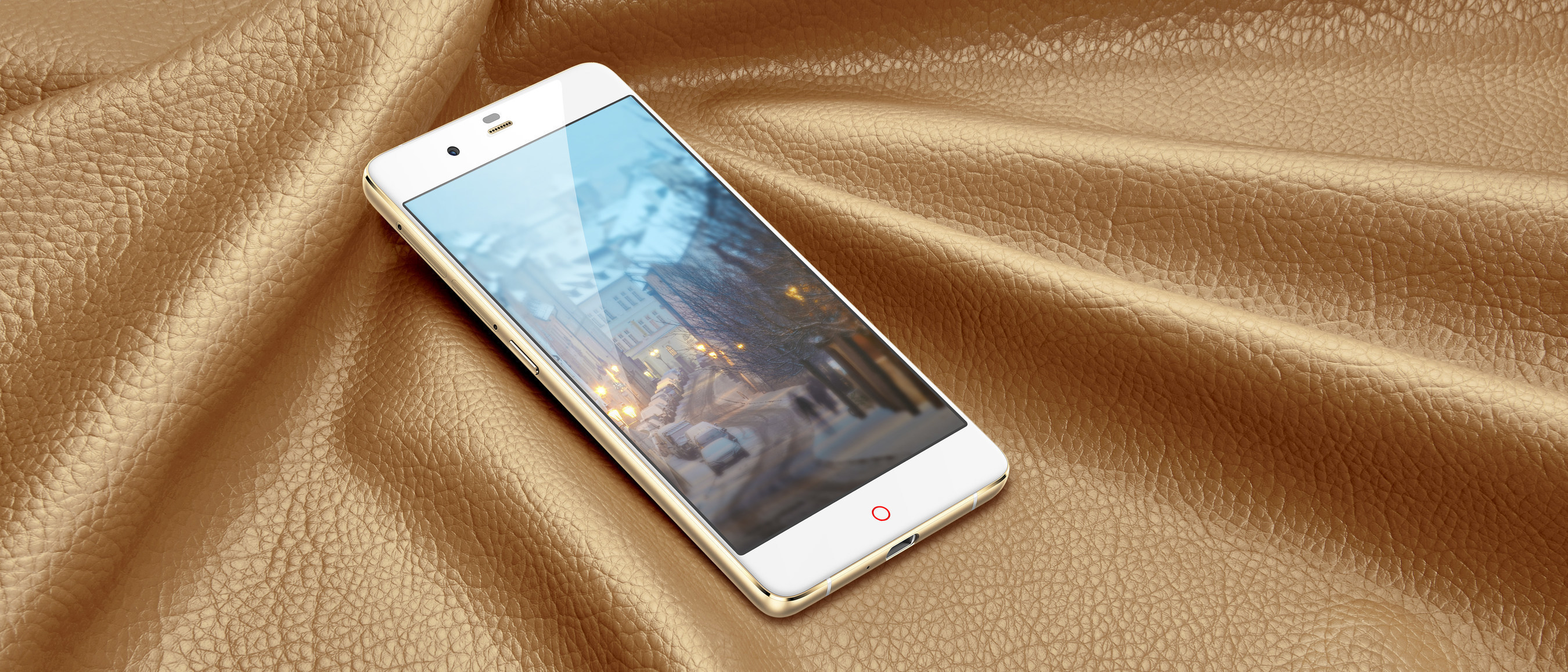 """""""nubia My PRAGUE"""" features a slim, rounded and fluid design with professional photography functions, amazing selfie experience and innovative Frame interactive Technology (FiT)."""
