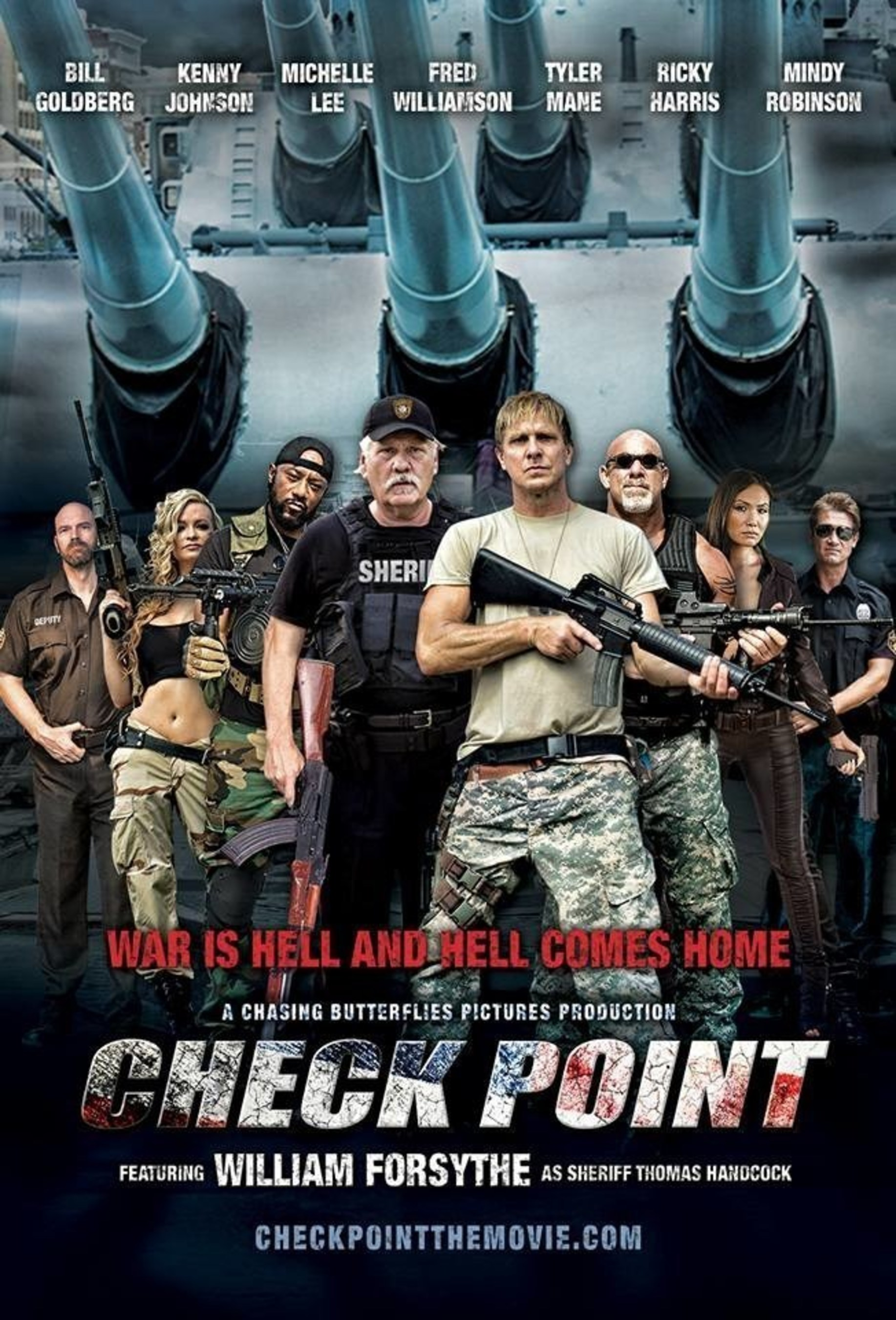 Check Point Movie Unmasks Real Life Terrorist 'Sleeper Cells' in the USA, Starring Kenny Johnson,
