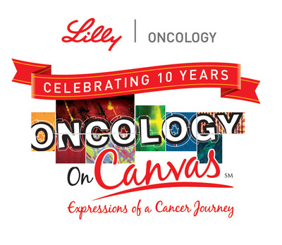 Lilly Oncology On Canvas Celebrating 10 Years.  (PRNewsFoto/Eli Lilly and Company)