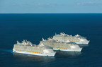World's Three Largest Cruise Ships Meet For The First Time At Sea